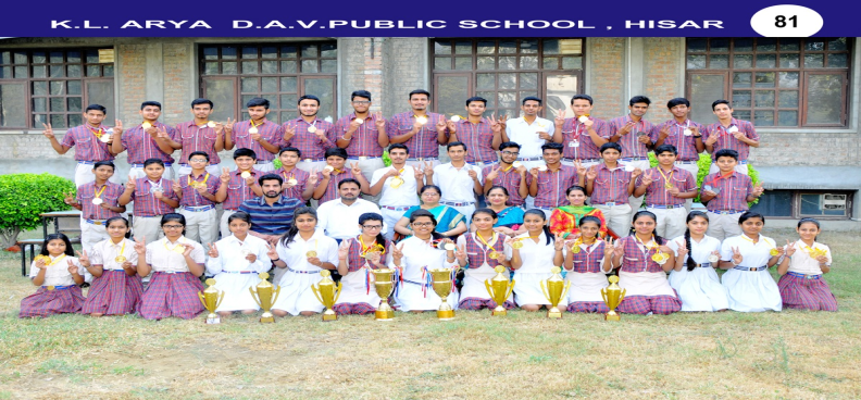 DAV National Sports Winners